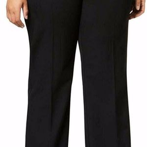 Charter Club Women's Black Plus Relaxed  Pant 28W